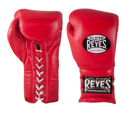 The Cleto Reyes Traditional Lace Up Training Boxing Gloves stem from traditional Mexican craftsmanship and offer an extra-long cuff for security. Made with long-lasting and durable foam padding to give you superior protection, manufactured with the best leather and materials, under the strictest quality control.