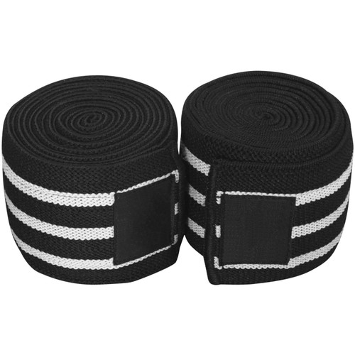 Skip to the beginning of the images gallery Fitness First Weightlifting Knee Wrap - Pair