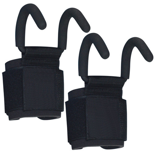 Fitness First Heavy Duty Weight Lifting Hooks