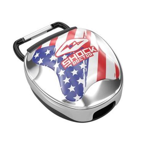 USA FLAG MOUTHGUARD CASE