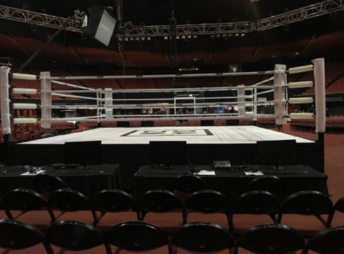 AFG  PRO Boxing Ring Competition Fight Night Limited Edition Crafted with Pride in CA!