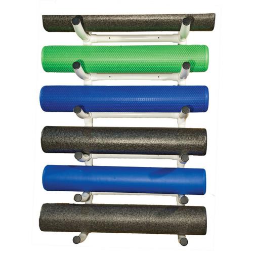 PVC Foam Roller Wall Rack