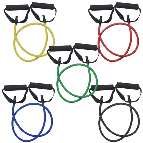Fitness First Deluxe Resistance Bands Tubes