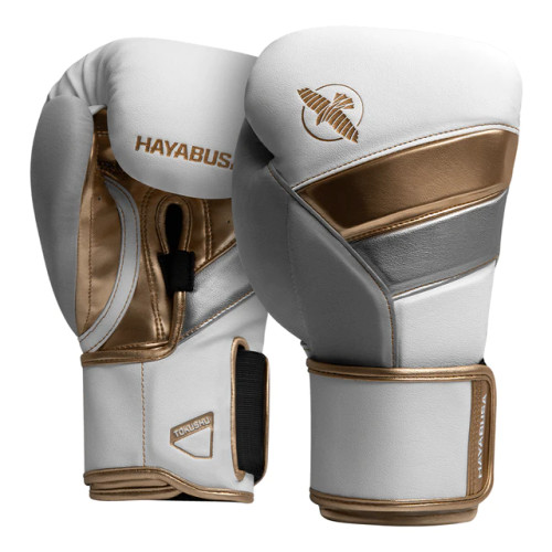 T3 Boxing Gloves are recognized as the most advanced and protective gloves in the world. Renowned for its wrist support, T3 features two interlocking straps for a superb fit every time. Its ergonomic design was developed to protect and align your hands with each strike, empowering you to train with confidence. Experience Hayabusa's award-winning boxing gloves backed by a decade of research.
