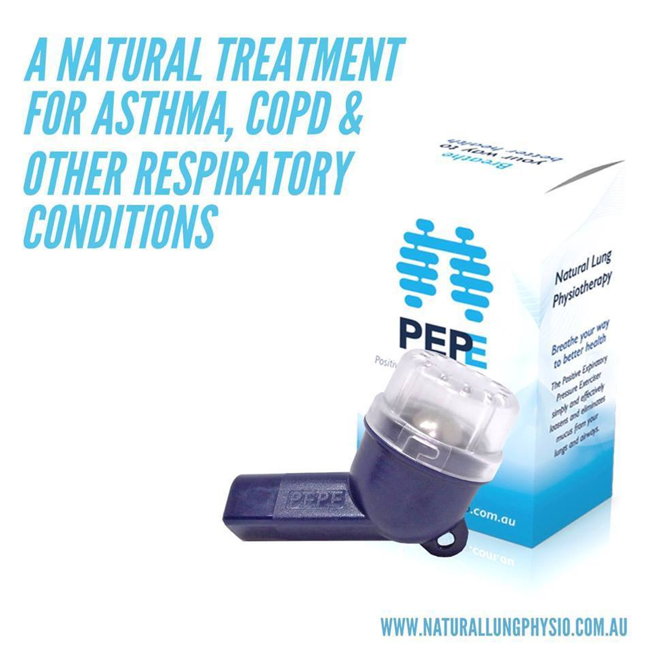 PEPE Airway Clearance Respiratory Device