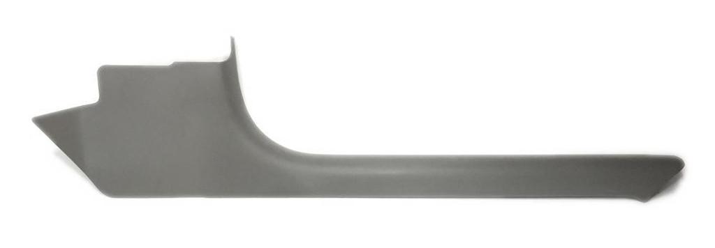 1997 - 2004 C5 Corvette Door Sill Trim Plate Pewter 92I Passenger Side (Right RH) OEM 10430858