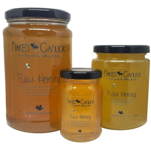 Raw Honey 1kg 500g 180g