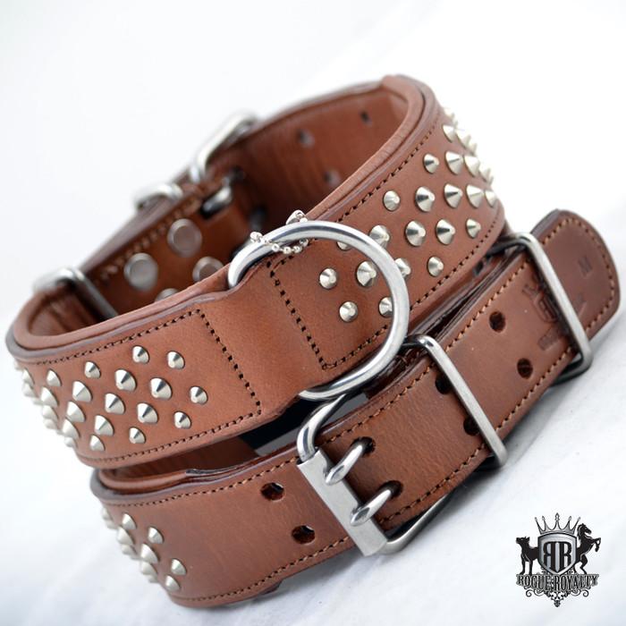 Ruff Neck - Brown & Silver