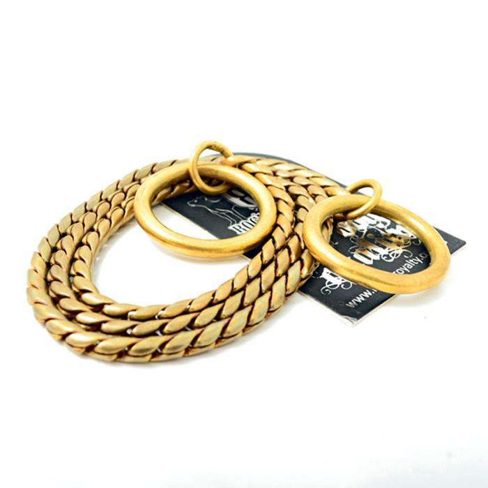 Brass Slip Dog Collar