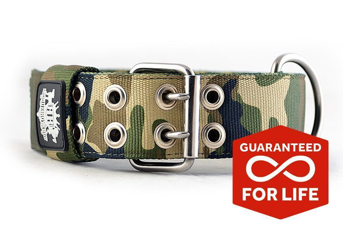 SUPATUFF® Heavy Duty Dog Collar - Militia Camo