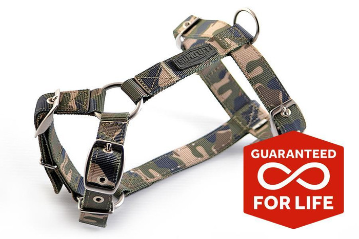 SUPATUFF® Slim Fit Dog Harness - Militia Camo