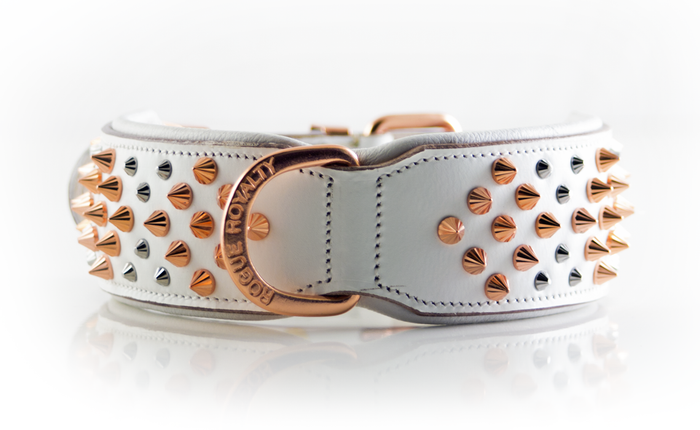 Imperial Collar Iced Out - Rose Gold