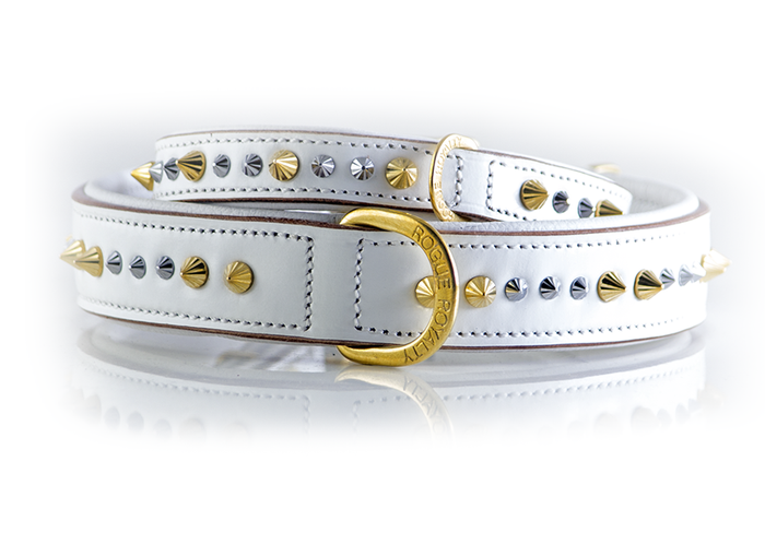 Imperial Collar Slim Fit - Iced Out  Gold