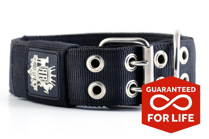 SUPATUFF® Heavy Duty Dog Collar - Black