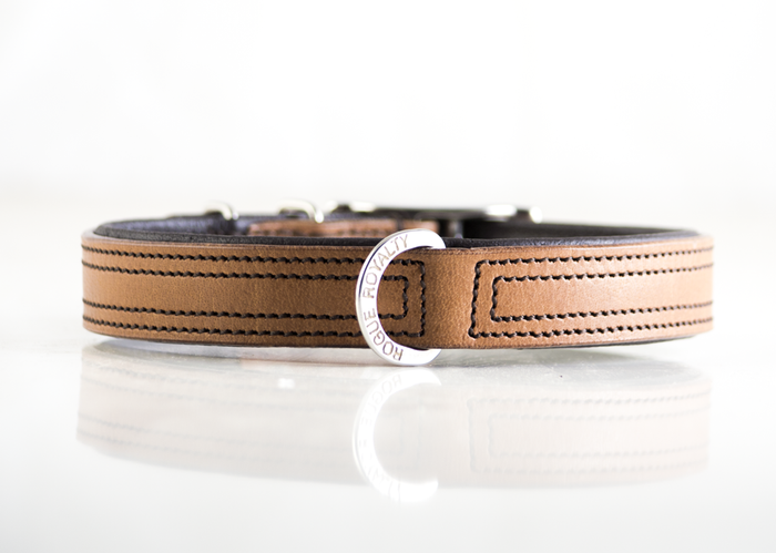 Tuscan Rogue Collar - Tan & Brown