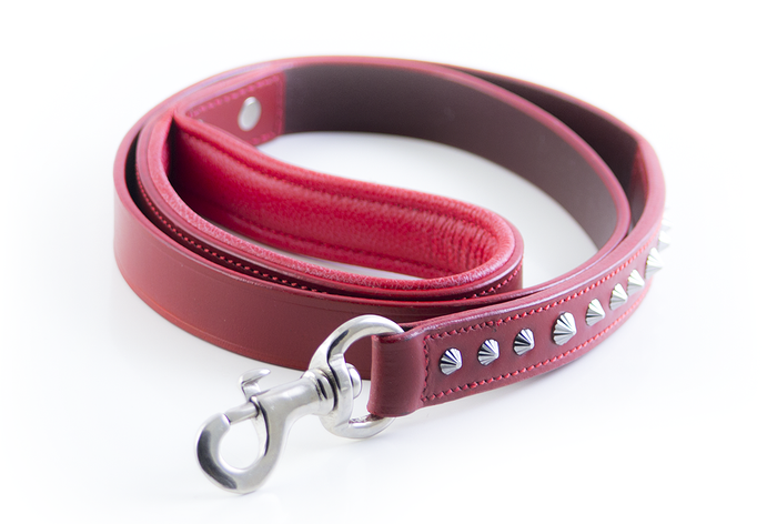 Imperial Dog Leash - Red