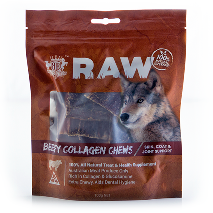 Dog Treat - Beefy Collagen Chews