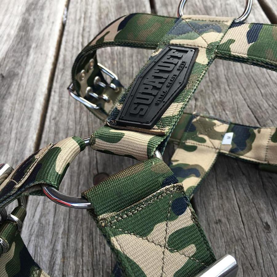SUPATUFF® Heavy Duty Dog Harness - Militia Camo