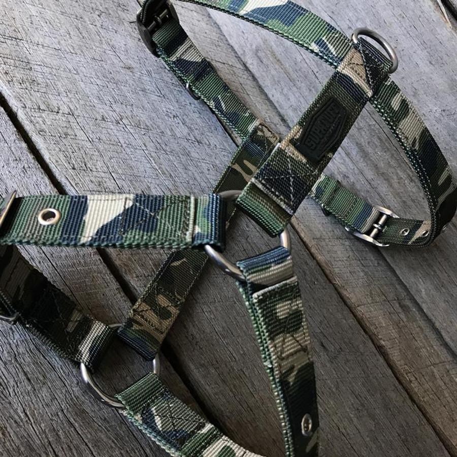 SUPATUFF® Slim Fit Dog Harness - Militia Camo