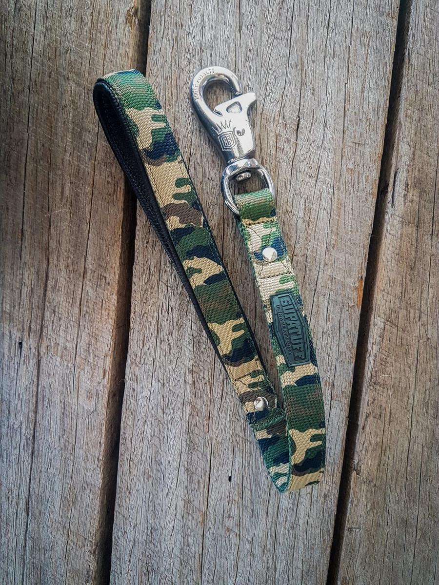 SUPATUFF® Heavy Duty Leash 60cm - Militia Camo