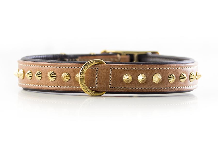 Ruthless Collar Slim Fit - Tan & Brass