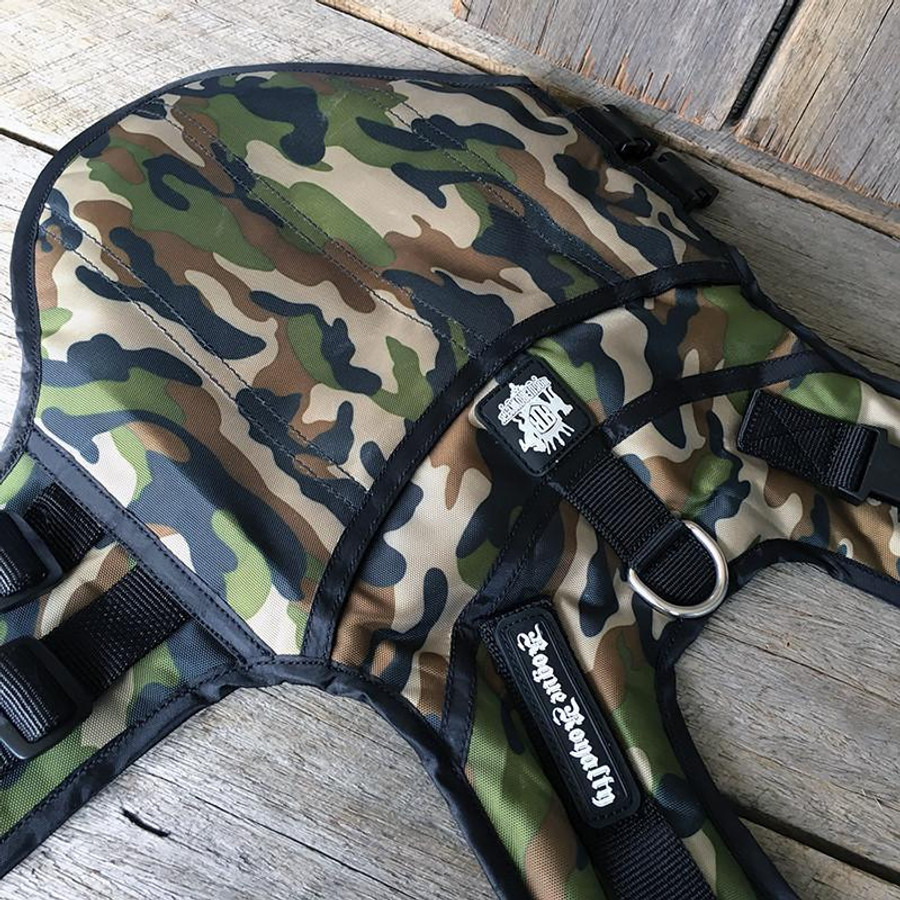 Rogue Active Dog Jacket - 'CAMO'