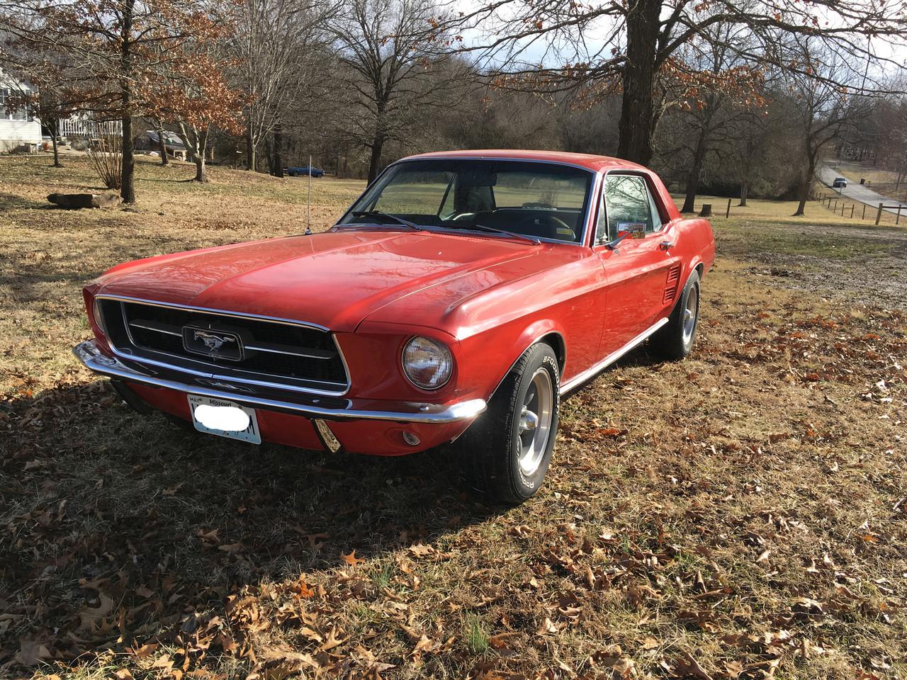 1967 1968 Mustang Stone Guard Deflector Gravel Shield