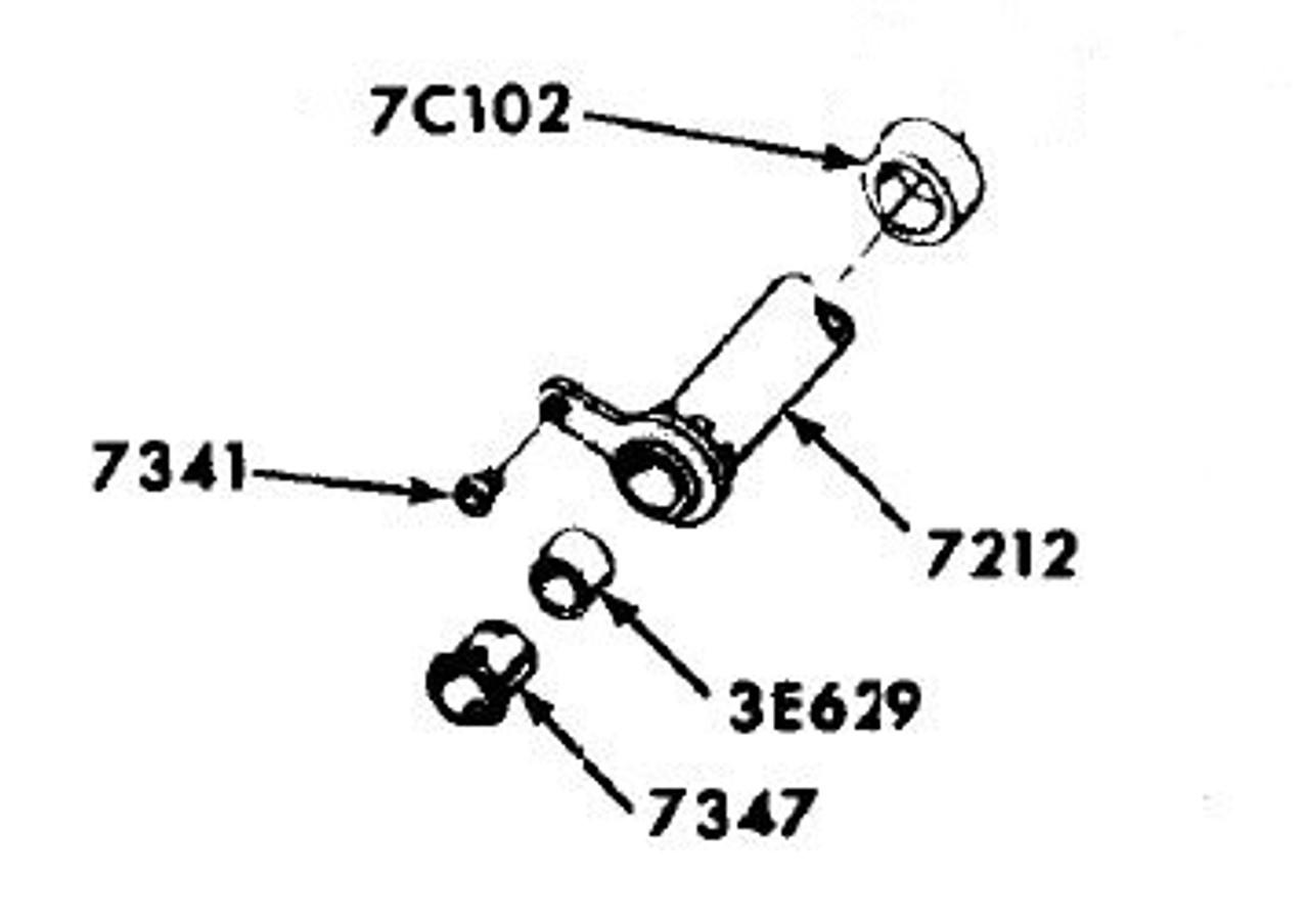 1967 68 69 70 Fairlane Falcon Mustang Power Steering Hose Insulators