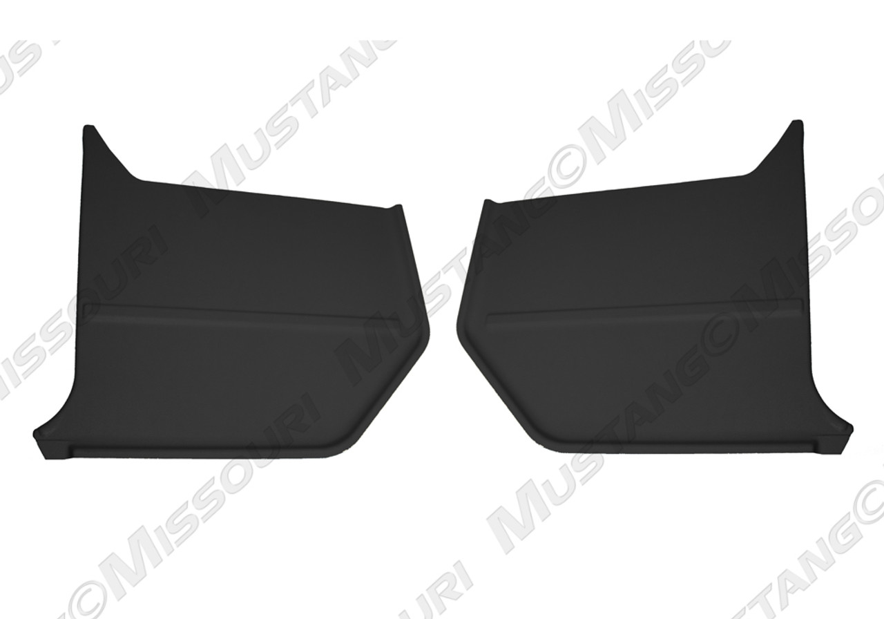 1964-66 Ford Mustang convertible kick panels.