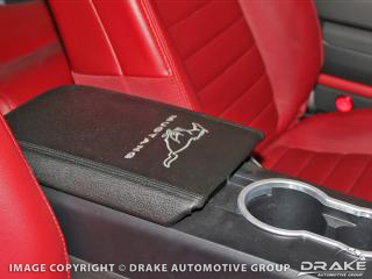 2005-2009 Ford Mustang arm rest cover w/ horse