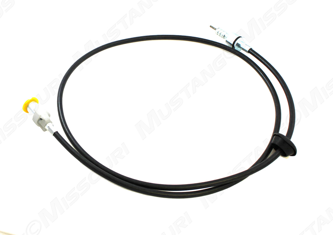 1969-1972 Ford Mustang speedometer cable for 3-speed and