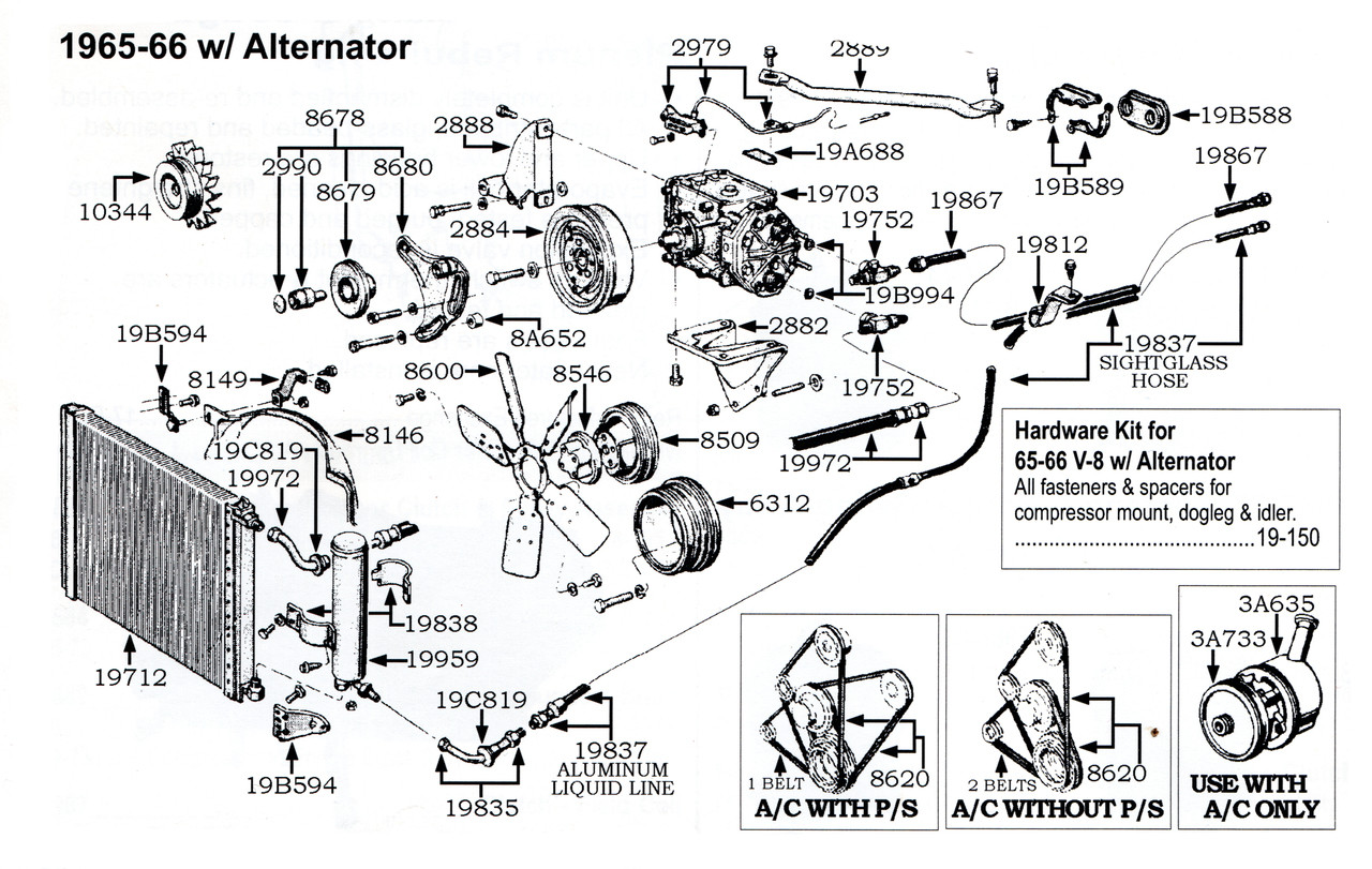 [SCHEMATICS_4LK]  1966 Ford Mustang suction hose, V8. | 1966 Ford Mustang Engine Diagram |  | Missouri Mustang