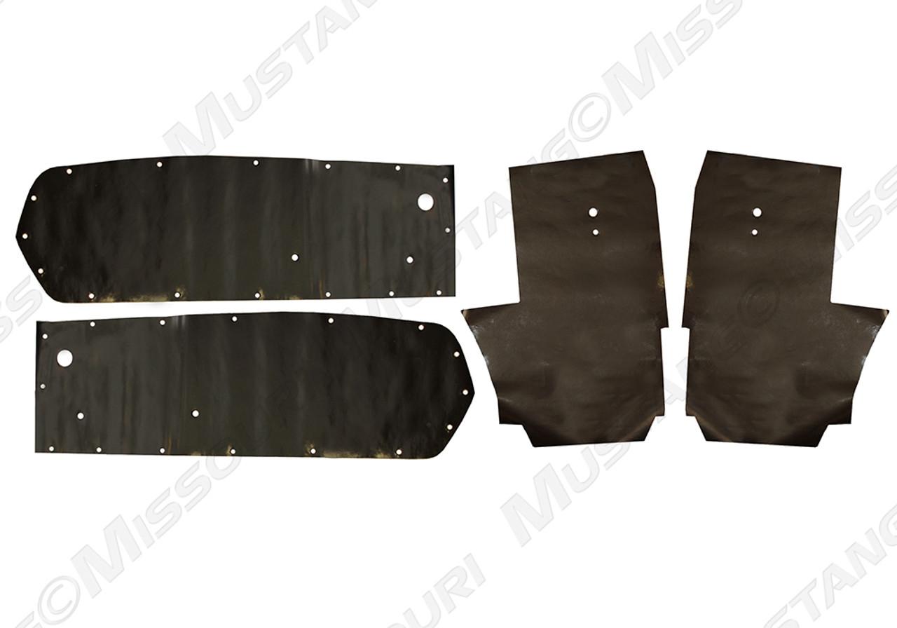 Repops Mustang Door Panel Watershields Fastback 1967-1968