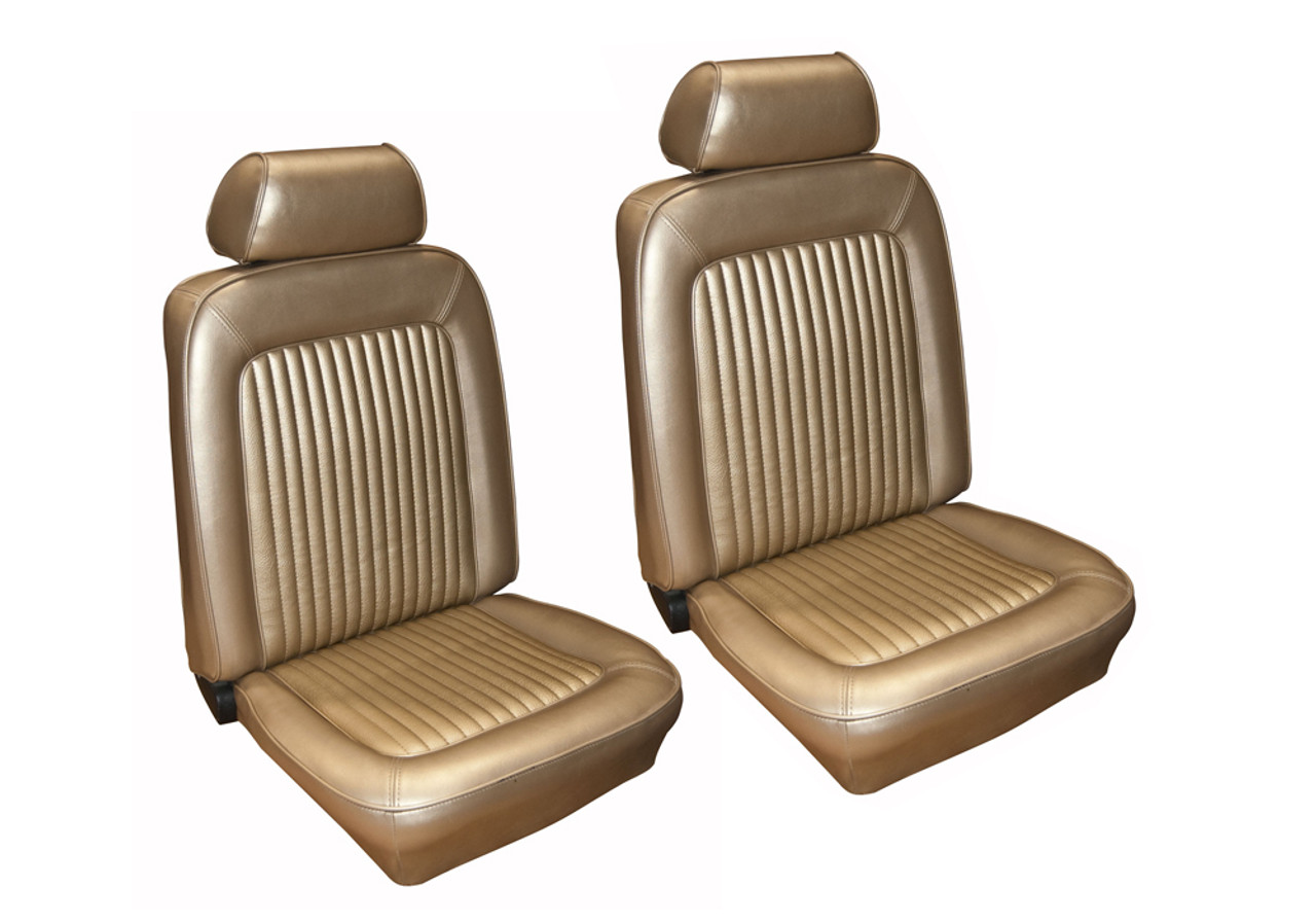 1968 Ford Mustang Seat covers Upholstery Fastback Black  Full Set NEW
