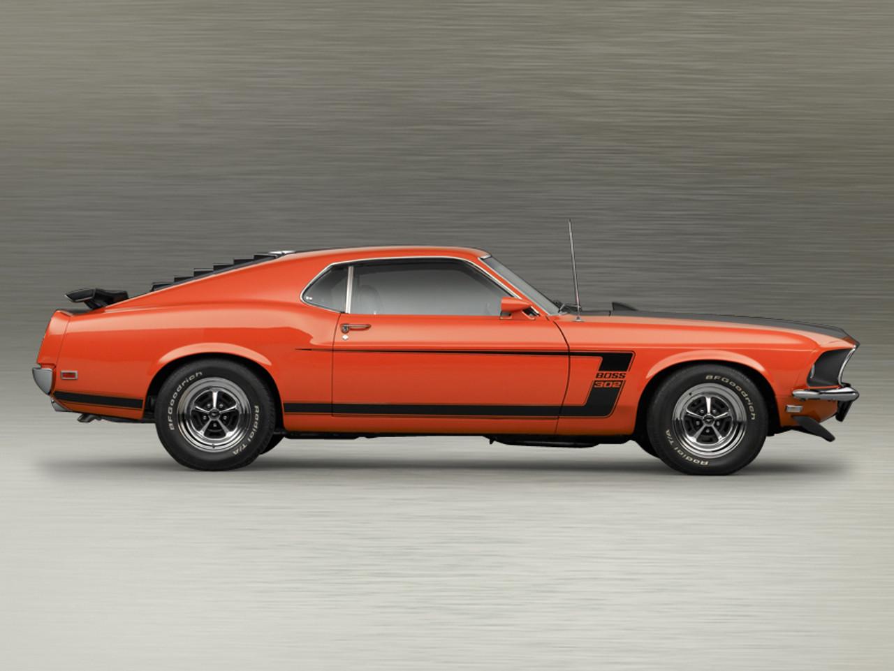 1969-1970 Mustang Shelby-Windshield  Molding Clip /& Screw Set Boss