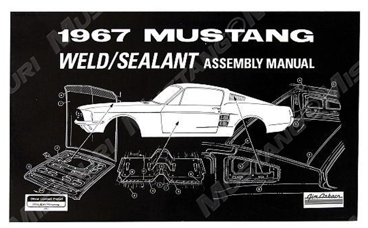 Osborn Reproductions Mustang Assembly Manual Engine 1965