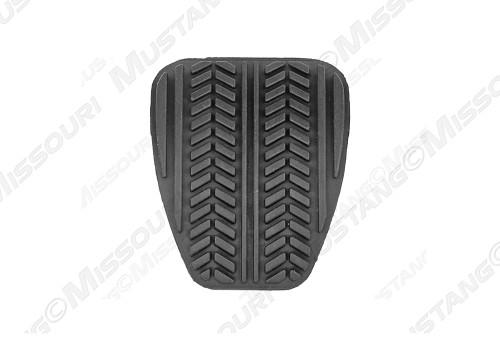 1994-2004 Ford Mustang clutch or standard brake pedal pad, each.