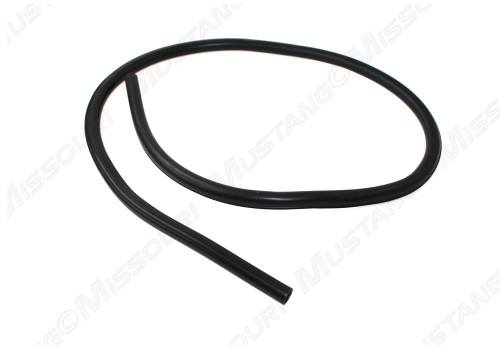 "1964-1973 Ford Mustang radiator overflow hose.  This factory correct hose features 3 raised ribs, just like original, and is 36"" in length."