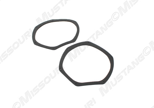 1969-1970 Ford Mustang air vent gasket, set of two.