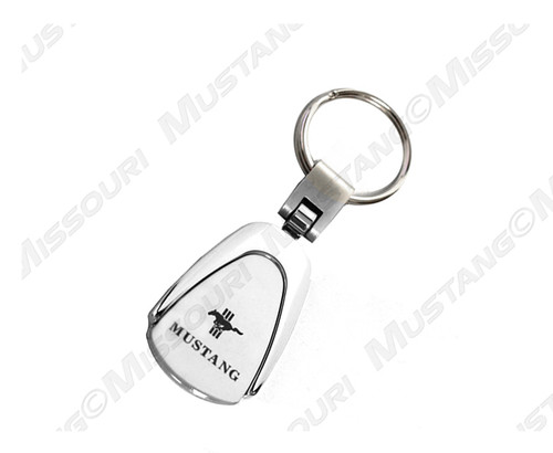 Ford Mustang Tri-Bar Key Ring