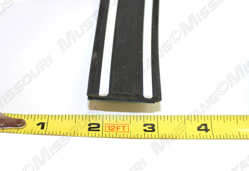 1974-1978 Ford Mustang Bumper trim strip.  Fits front or rear bumper.