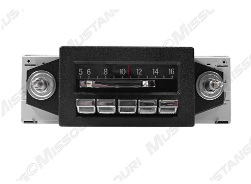 1967-1973 Ford Mustang Slidebar Radio
