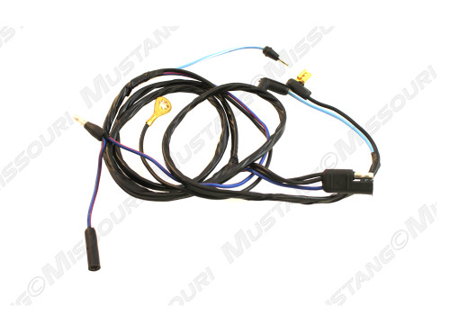 1969-1970 Ford Mustang console to dash wiring harness.
