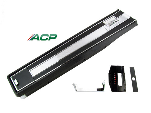 1964-1965 Ford Mustang short floor console assembly for automatic transmission with air conditioning.