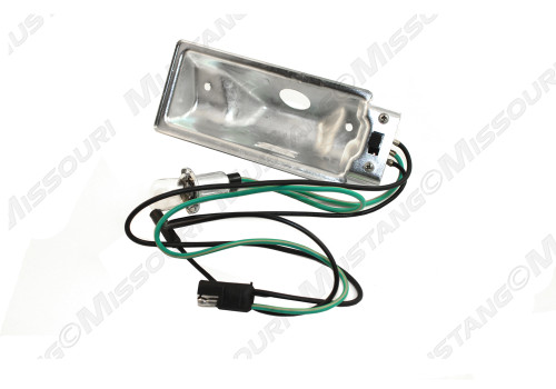 1969-1970 Ford Mustang map light for models with standard interior.