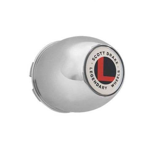 A set of four plastic caps with Legendary logo are included.