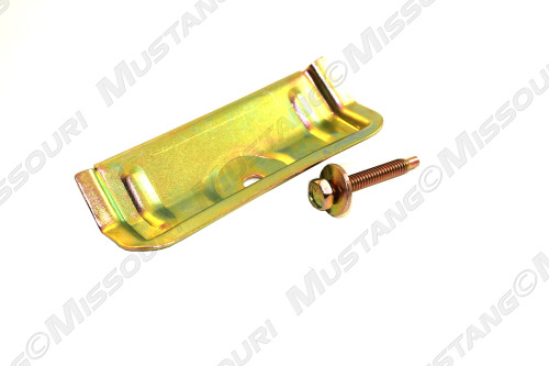 1979-1986 Ford Mustang battery hold down clamp with bolt.
