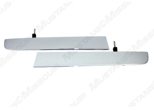 1967 Ford Mustang standard grille bars, pair.