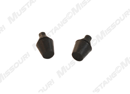 1994-1998 Ford Mustang lower rear door bumpers, set of 2.