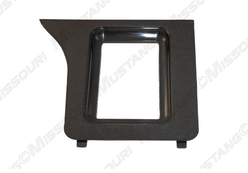 1979-1986 Ford Mustang console shifter bezel for automatic transmission.